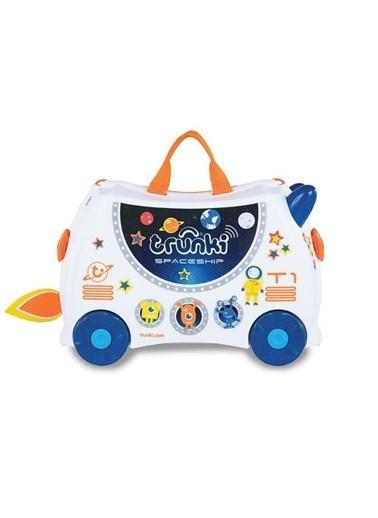 Trunki Trunki Çocuk Bavulu - Uzay Gemisi Skye Renkli